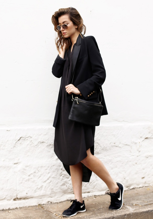 http://justthedesign.tumblr.com/post/103989992454/carmen-hamilton-is-wearing-a-black-dress-and-bag-from-sp